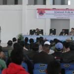 Seminar Publik RPB Bener Meriah